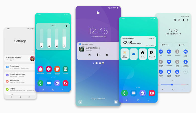 One UI 3: Samsung starts update to Android 11