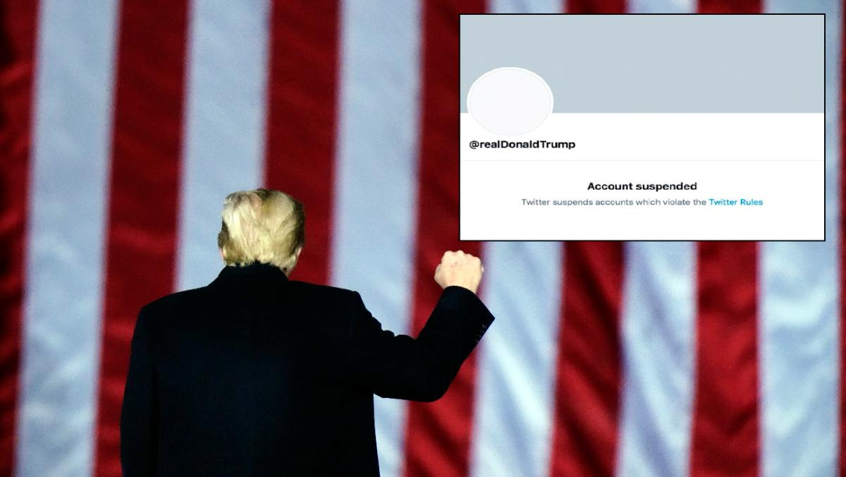 Twitter permanently suspends Donald Trump's account over risk of incitement - World News