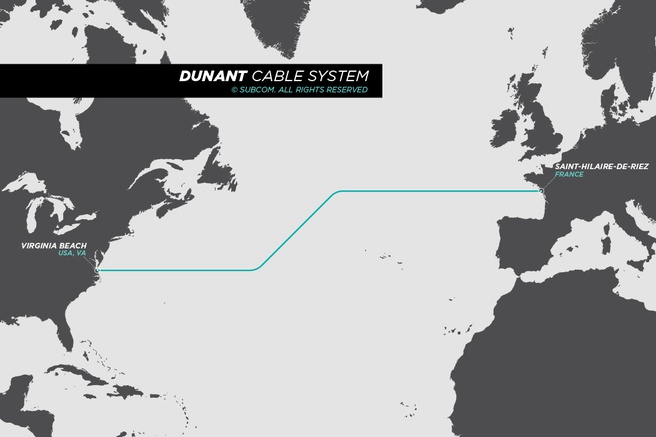 Dunant submarine cable