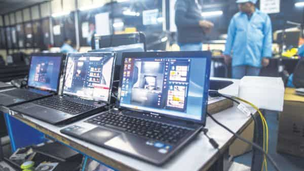 Image result for Indian government wants manufacturers to make more laptops and tablets in India