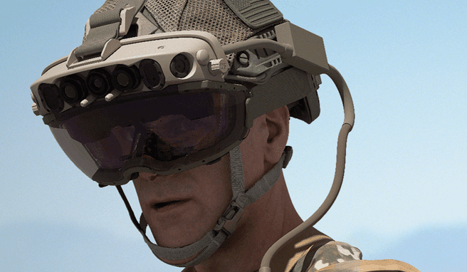 Microsoft HoloLens in US Army