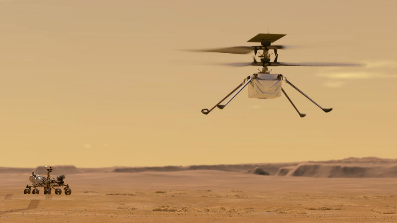 NASA attempts first powered helicopter flight on Mars