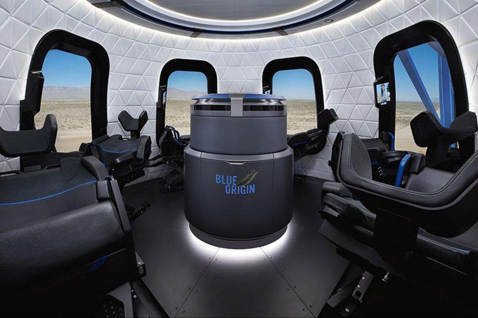 Blue Origin opens online auction for seat on 1st crewed flight - UPI.com