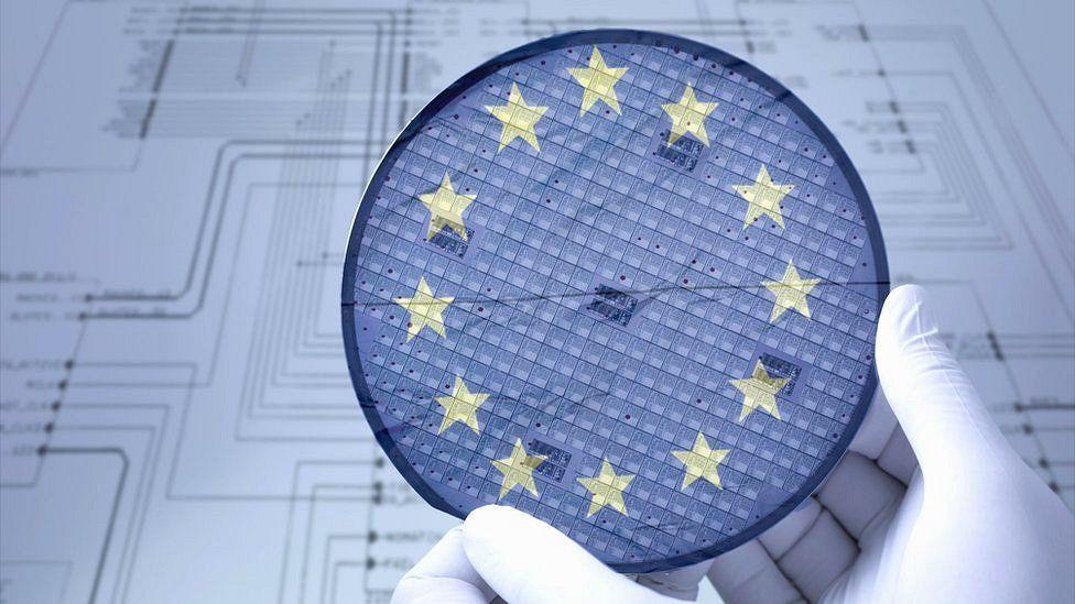 EU seeks to supercharge computer chip production - BBC News
