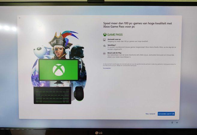 Windows 11 Xbox Game Pass